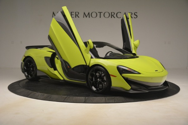 New 2020 McLaren 600LT SPIDER Convertible for sale $281,570 at Pagani of Greenwich in Greenwich CT 06830 25