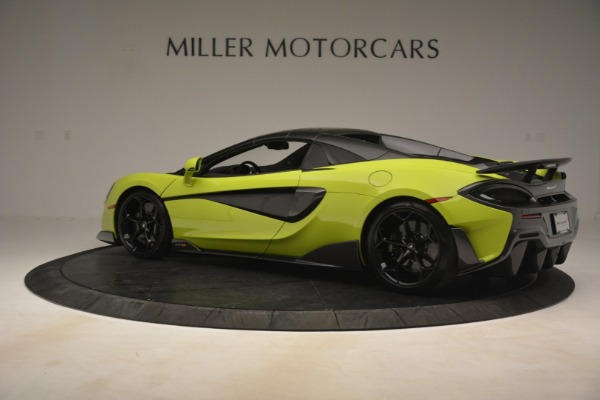 New 2020 McLaren 600LT SPIDER Convertible for sale $281,570 at Pagani of Greenwich in Greenwich CT 06830 4