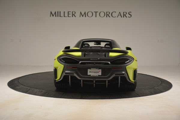New 2020 McLaren 600LT SPIDER Convertible for sale $281,570 at Pagani of Greenwich in Greenwich CT 06830 5