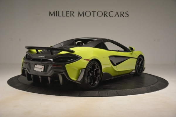 New 2020 McLaren 600LT SPIDER Convertible for sale $281,570 at Pagani of Greenwich in Greenwich CT 06830 6