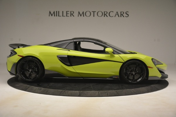New 2020 McLaren 600LT Spider Convertible for sale Call for price at Pagani of Greenwich in Greenwich CT 06830 7