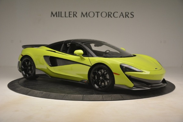New 2020 McLaren 600LT SPIDER Convertible for sale $281,570 at Pagani of Greenwich in Greenwich CT 06830 8