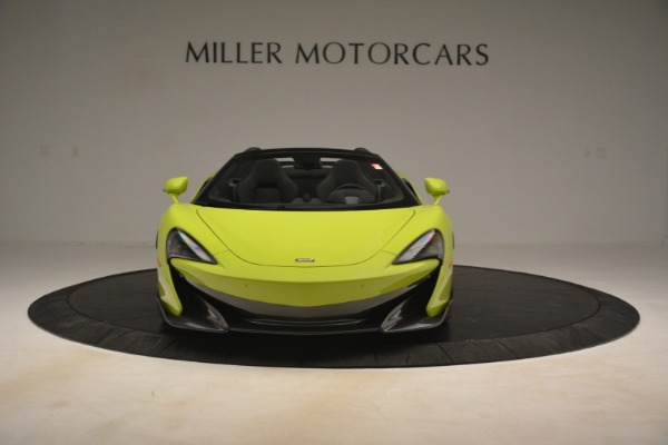New 2020 McLaren 600LT SPIDER Convertible for sale $281,570 at Pagani of Greenwich in Greenwich CT 06830 9