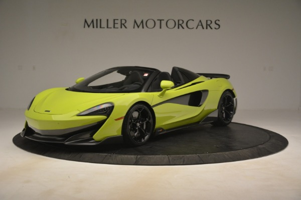 New 2020 McLaren 600LT SPIDER Convertible for sale $281,570 at Pagani of Greenwich in Greenwich CT 06830 1
