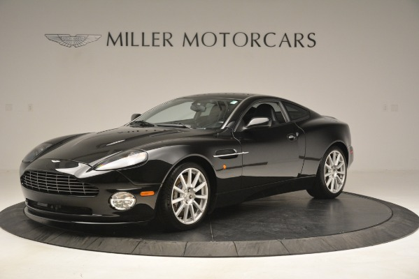 Used 2005 Aston Martin V12 Vanquish S Coupe for sale Sold at Pagani of Greenwich in Greenwich CT 06830 1