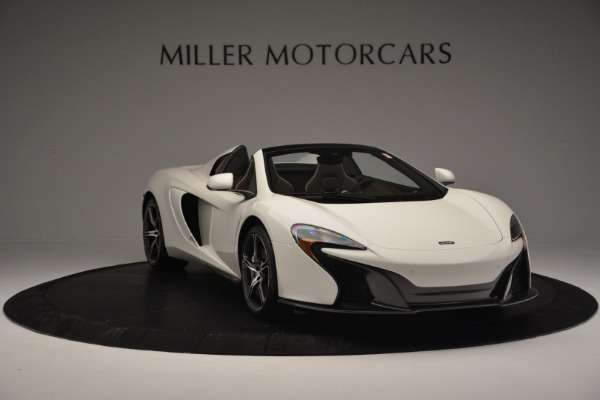 Used 2015 McLaren 650S Convertible for sale Sold at Pagani of Greenwich in Greenwich CT 06830 10