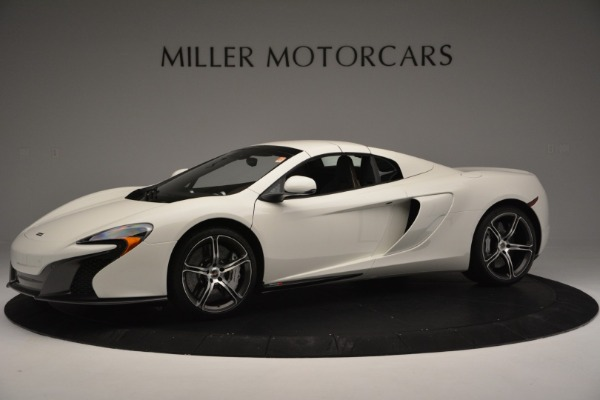 Used 2015 McLaren 650S Convertible for sale Sold at Pagani of Greenwich in Greenwich CT 06830 12