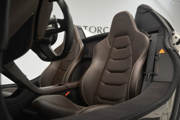 Used 2015 McLaren 650S Convertible for sale Sold at Pagani of Greenwich in Greenwich CT 06830 20