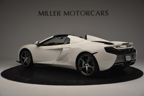 Used 2015 McLaren 650S Convertible for sale Sold at Pagani of Greenwich in Greenwich CT 06830 3