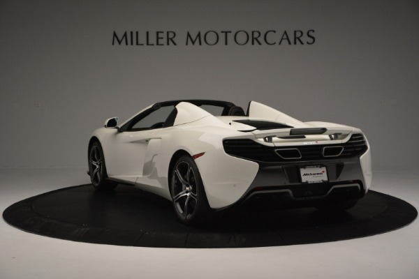 Used 2015 McLaren 650S Convertible for sale Sold at Pagani of Greenwich in Greenwich CT 06830 4
