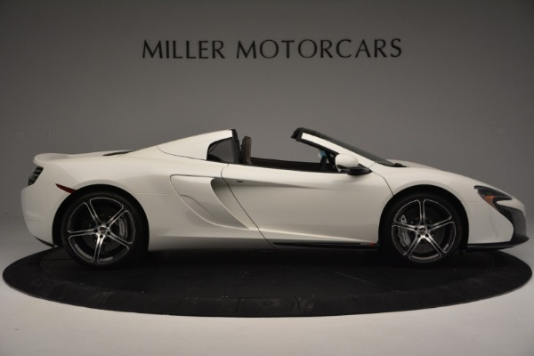 Used 2015 McLaren 650S Convertible for sale Sold at Pagani of Greenwich in Greenwich CT 06830 8