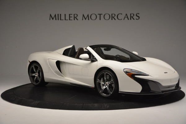 Used 2015 McLaren 650S Convertible for sale Sold at Pagani of Greenwich in Greenwich CT 06830 9