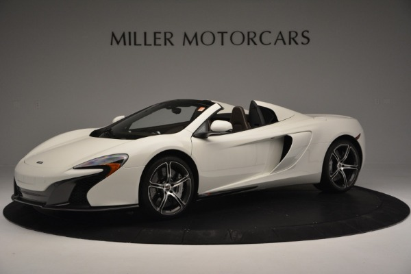 Used 2015 McLaren 650S Convertible for sale Sold at Pagani of Greenwich in Greenwich CT 06830 1