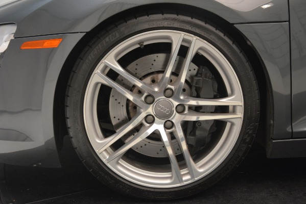 Used 2009 Audi R8 quattro for sale Sold at Pagani of Greenwich in Greenwich CT 06830 22