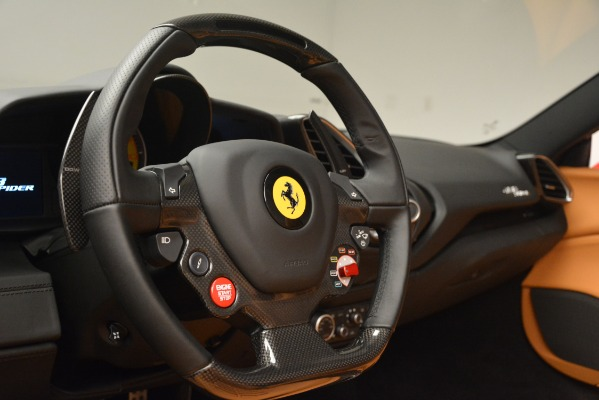 Used 2018 Ferrari 488 Spider for sale Sold at Pagani of Greenwich in Greenwich CT 06830 26
