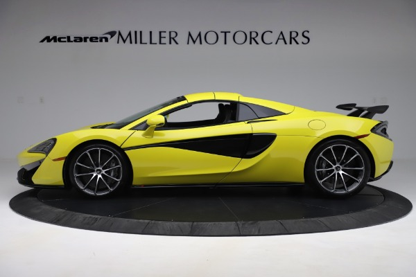 New 2019 McLaren 570S SPIDER Convertible for sale $227,660 at Pagani of Greenwich in Greenwich CT 06830 10