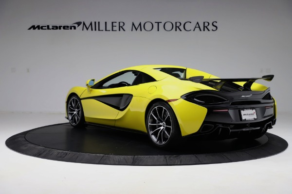 New 2019 McLaren 570S SPIDER Convertible for sale $227,660 at Pagani of Greenwich in Greenwich CT 06830 11