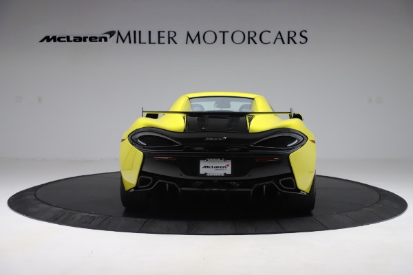 New 2019 McLaren 570S SPIDER Convertible for sale $227,660 at Pagani of Greenwich in Greenwich CT 06830 12