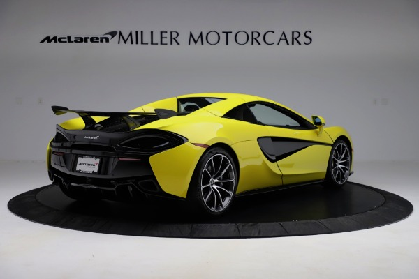 New 2019 McLaren 570S SPIDER Convertible for sale $227,660 at Pagani of Greenwich in Greenwich CT 06830 13