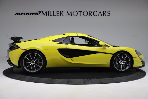 New 2019 McLaren 570S SPIDER Convertible for sale $227,660 at Pagani of Greenwich in Greenwich CT 06830 14