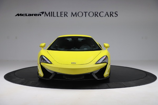 New 2019 McLaren 570S SPIDER Convertible for sale $227,660 at Pagani of Greenwich in Greenwich CT 06830 16