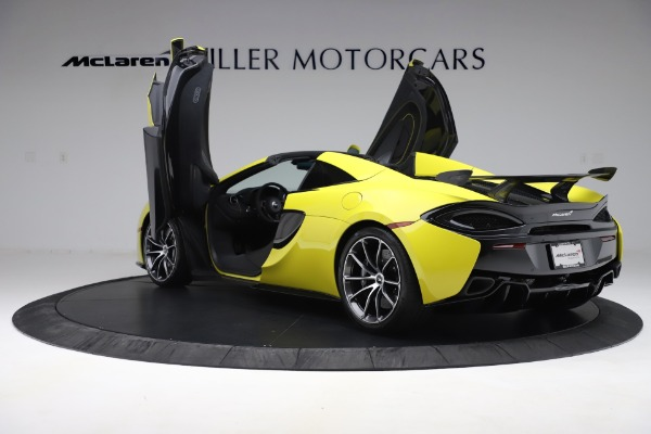 New 2019 McLaren 570S SPIDER Convertible for sale $227,660 at Pagani of Greenwich in Greenwich CT 06830 19
