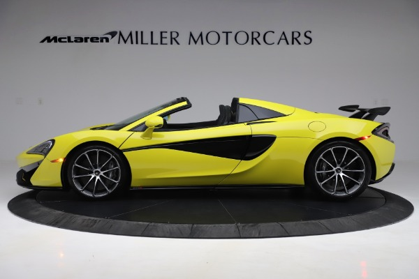 New 2019 McLaren 570S SPIDER Convertible for sale $227,660 at Pagani of Greenwich in Greenwich CT 06830 2