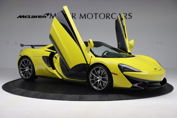 New 2019 McLaren 570S SPIDER Convertible for sale $227,660 at Pagani of Greenwich in Greenwich CT 06830 22