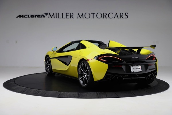 New 2019 McLaren 570S SPIDER Convertible for sale $227,660 at Pagani of Greenwich in Greenwich CT 06830 3