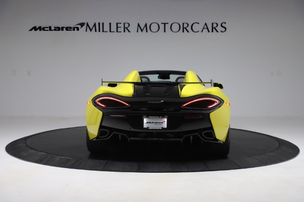 New 2019 McLaren 570S SPIDER Convertible for sale $227,660 at Pagani of Greenwich in Greenwich CT 06830 4