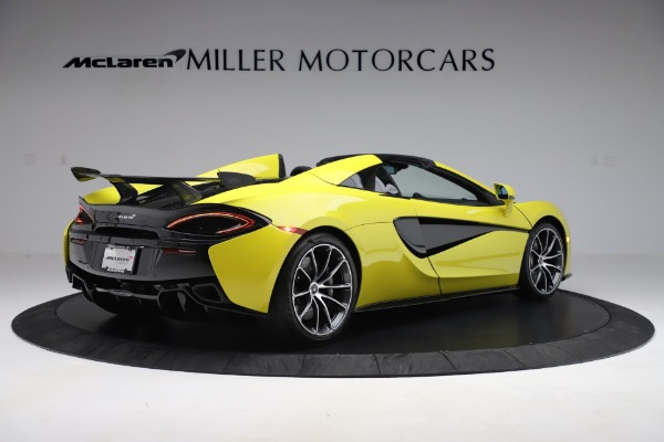 New 2019 McLaren 570S SPIDER Convertible for sale $227,660 at Pagani of Greenwich in Greenwich CT 06830 5