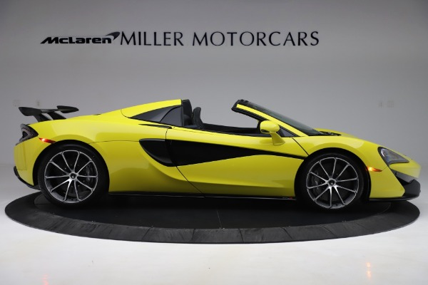 New 2019 McLaren 570S SPIDER Convertible for sale $227,660 at Pagani of Greenwich in Greenwich CT 06830 6