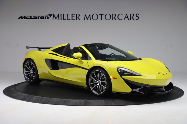 New 2019 McLaren 570S SPIDER Convertible for sale $227,660 at Pagani of Greenwich in Greenwich CT 06830 7