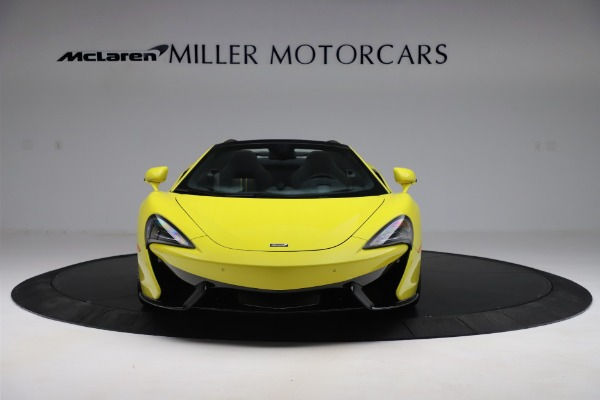 New 2019 McLaren 570S SPIDER Convertible for sale $227,660 at Pagani of Greenwich in Greenwich CT 06830 8