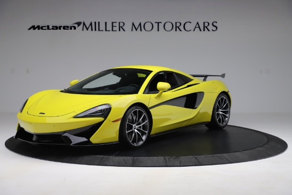 New 2019 McLaren 570S SPIDER Convertible for sale $227,660 at Pagani of Greenwich in Greenwich CT 06830 9