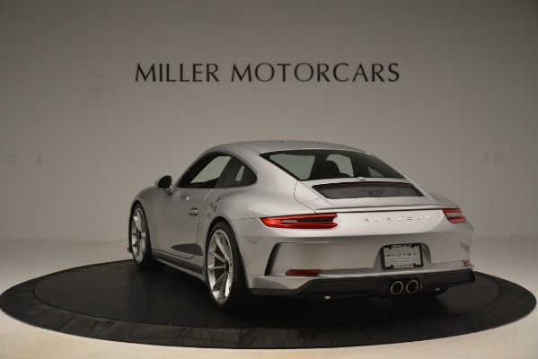 Used 2018 Porsche 911 GT3 for sale Sold at Pagani of Greenwich in Greenwich CT 06830 5