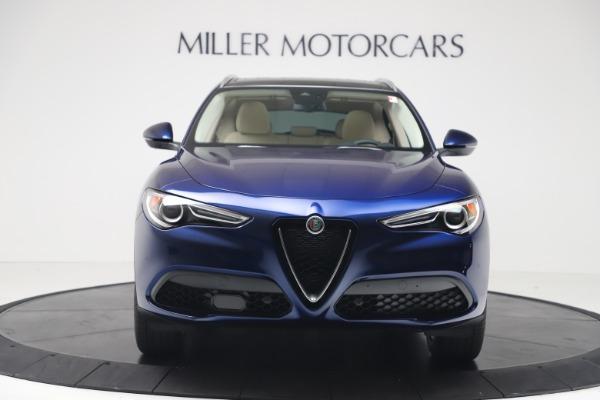 New 2019 Alfa Romeo Stelvio Ti Lusso Q4 for sale Sold at Pagani of Greenwich in Greenwich CT 06830 12
