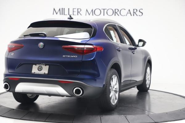 New 2019 Alfa Romeo Stelvio Ti Lusso Q4 for sale Sold at Pagani of Greenwich in Greenwich CT 06830 7