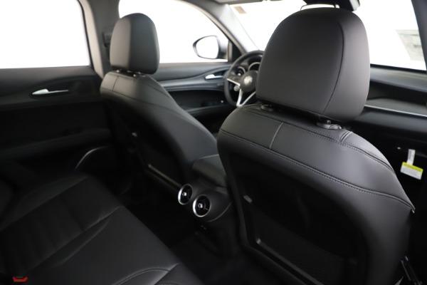 New 2019 Alfa Romeo Stelvio Ti Lusso Q4 for sale Sold at Pagani of Greenwich in Greenwich CT 06830 28