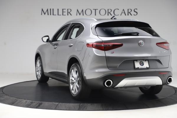 New 2019 Alfa Romeo Stelvio Ti Lusso Q4 for sale Sold at Pagani of Greenwich in Greenwich CT 06830 5