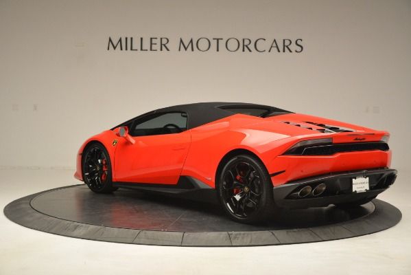 Used 2017 Lamborghini Huracan LP 610-4 Spyder for sale Sold at Pagani of Greenwich in Greenwich CT 06830 12