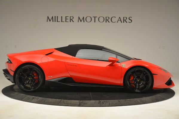 Used 2017 Lamborghini Huracan LP 610-4 Spyder for sale Sold at Pagani of Greenwich in Greenwich CT 06830 15