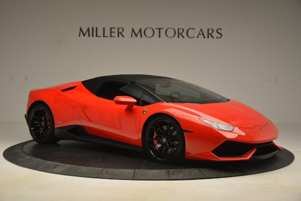 Used 2017 Lamborghini Huracan LP 610-4 Spyder for sale Sold at Pagani of Greenwich in Greenwich CT 06830 16