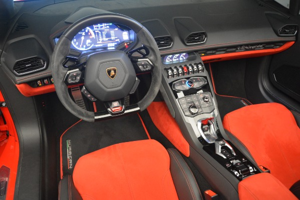 Used 2017 Lamborghini Huracan LP 610-4 Spyder for sale Sold at Pagani of Greenwich in Greenwich CT 06830 19