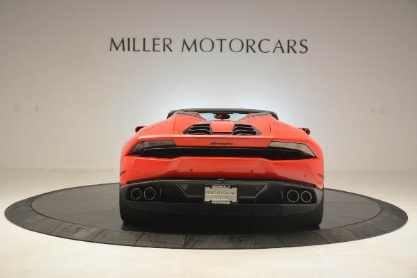 Used 2017 Lamborghini Huracan LP 610-4 Spyder for sale Sold at Pagani of Greenwich in Greenwich CT 06830 4