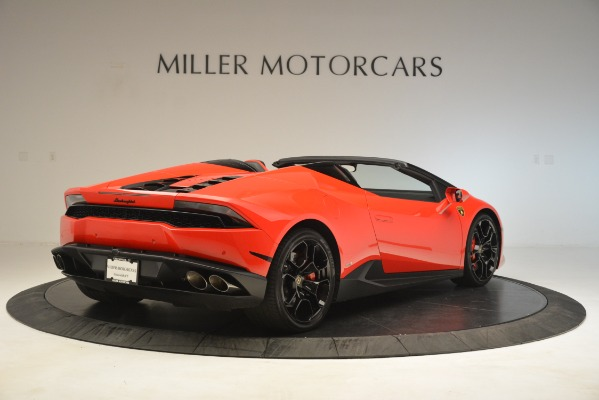 Used 2017 Lamborghini Huracan LP 610-4 Spyder for sale Sold at Pagani of Greenwich in Greenwich CT 06830 5