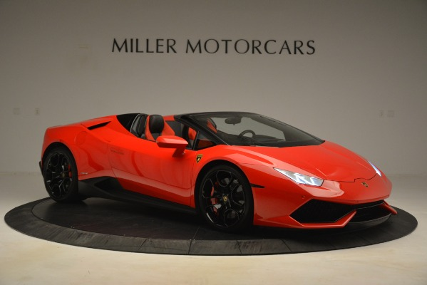Used 2017 Lamborghini Huracan LP 610-4 Spyder for sale Sold at Pagani of Greenwich in Greenwich CT 06830 7