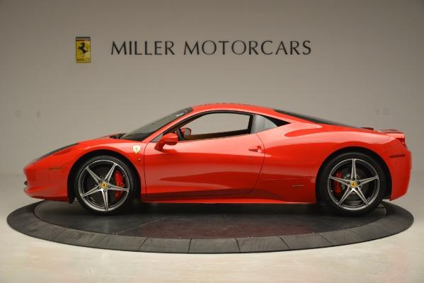 Used 2014 Ferrari 458 Italia for sale Sold at Pagani of Greenwich in Greenwich CT 06830 3