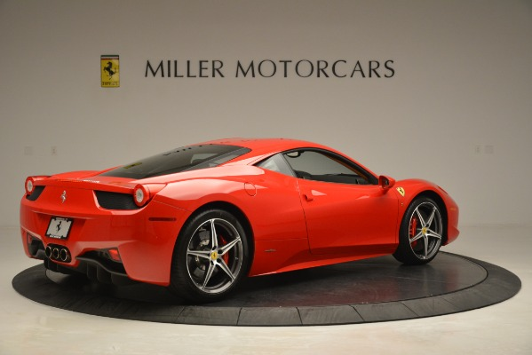 Used 2014 Ferrari 458 Italia for sale Sold at Pagani of Greenwich in Greenwich CT 06830 8