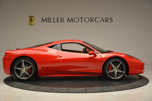 Used 2014 Ferrari 458 Italia for sale Sold at Pagani of Greenwich in Greenwich CT 06830 9